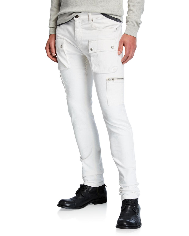 7c59ec9b0af8 Belstaff Men s Fremont Skinny Denim Cargo Pants