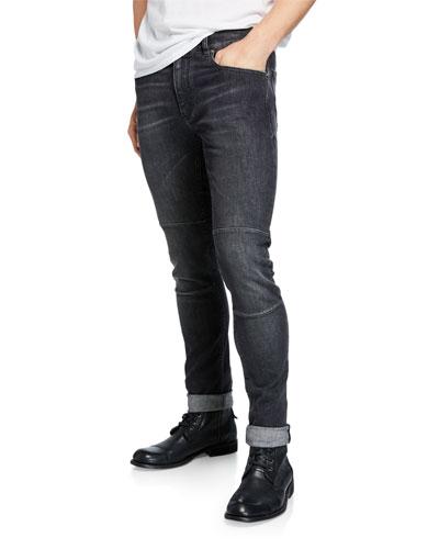 Men's Tattenhall Washed-Denim Jeans