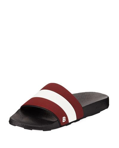 Sleter Rubber Slide Sandals