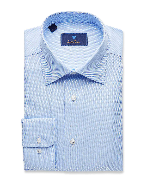 4ad2e5f68d1ac David Donahue Men s Regular-Fit Royal Oxford Dress Shirt