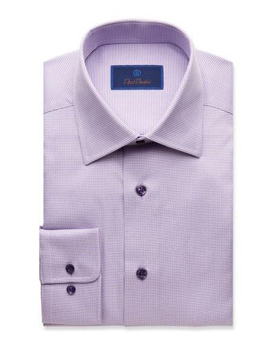 Men's Regular-Fit Tonal Tic Dress Shirt