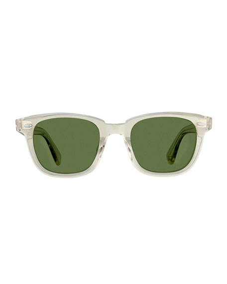Garrett Leight Men's Calabar 49 Acetate Sunglasses