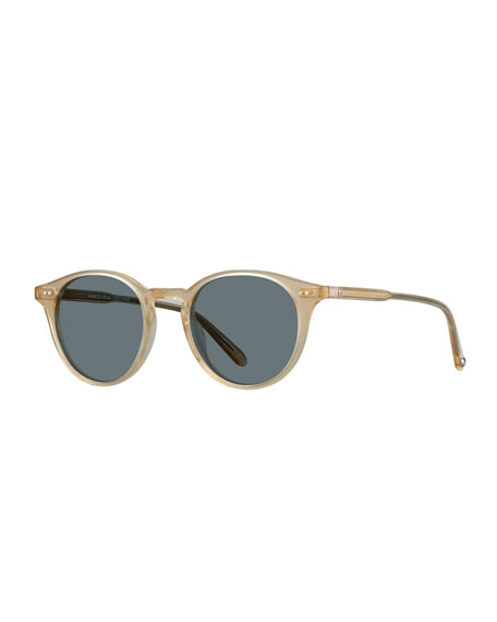 Garrett Leight Men's Clune 47 Acetate Sunglasses