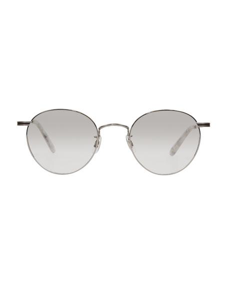 Garrett Leight Men's Wilson M 49 Round Glasses