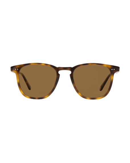 Garrett Leight Men's Brooks 47 Square Sunglasses