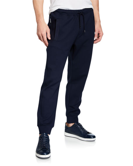 Emporio Armani Men's Hookup-Bottom Athletic Pants