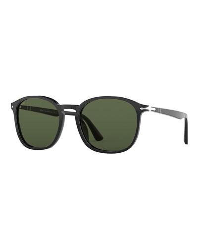 Men's Acetate Square Sunglasses