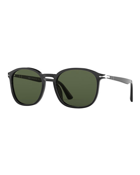 Persol Men's Acetate Square Sunglasses