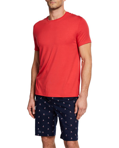 Men's Basel Solid Short-Sleeve T-Shirt