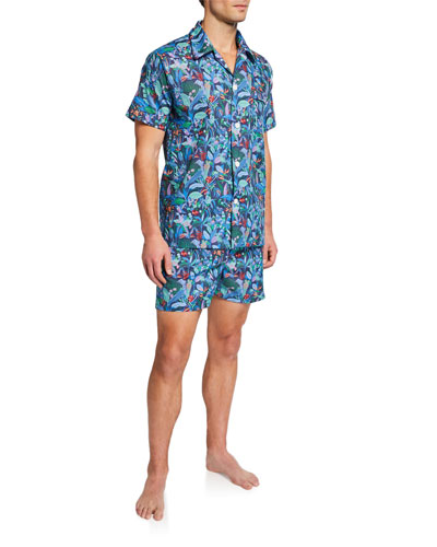 Men's Ledbury 20 Shorty Pajama Set