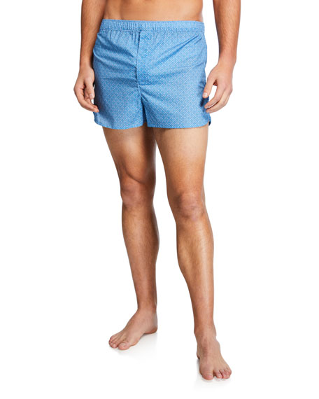 Derek Rose Men's Ledbury Modern-Fit Boxer Shorts