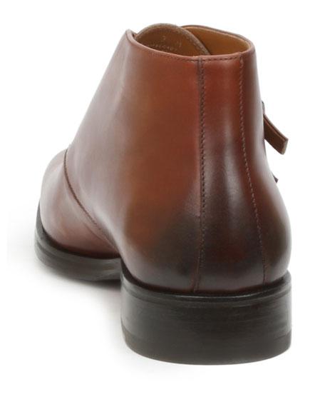 Men's Alberto Double-Monk Ankle Boots