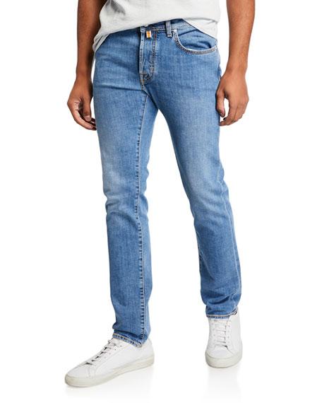 Jacob Cohen Jeans MEN'S MEDIUM-WASH STRAIGHT-LEG JEANS
