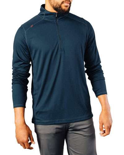 Men's Sequoia 1/4-Zip Sweater  Navy