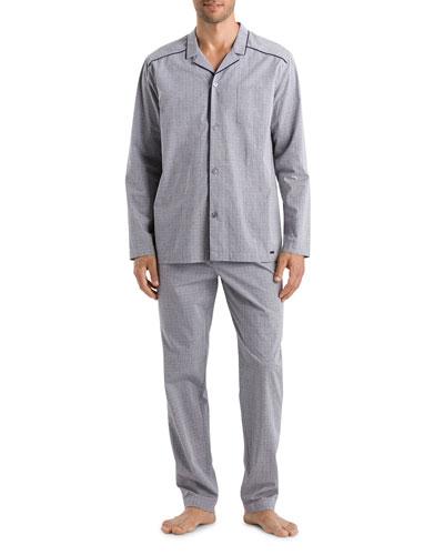 Men's Theo Woven Pajama Set