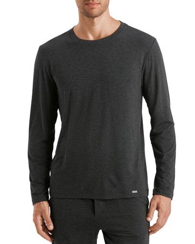 Men's Long-Sleeve Crew T-Shirt