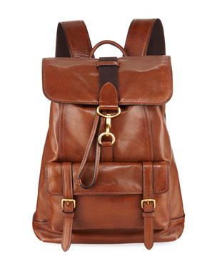Coach Men s Bleecker Leather Backpack. Favorite. Quick Look 42a60dee6c985