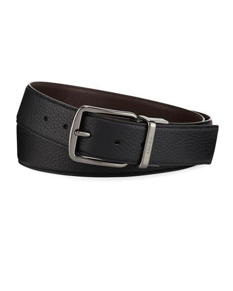 Coach Men's Wide Reversible Leather Belt