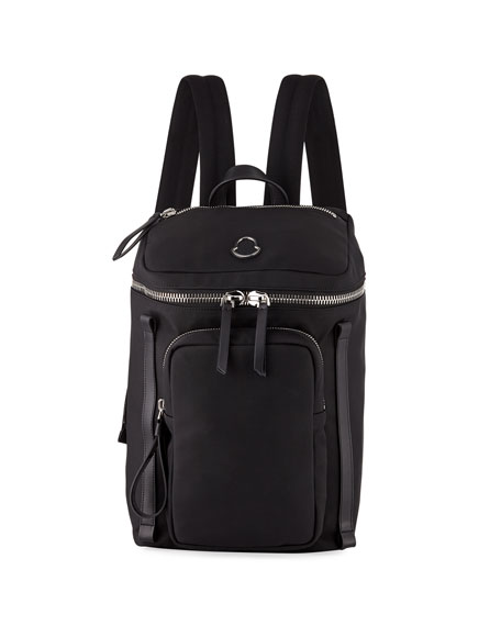 Moncler New Yannick Nylon Canvas Backpack