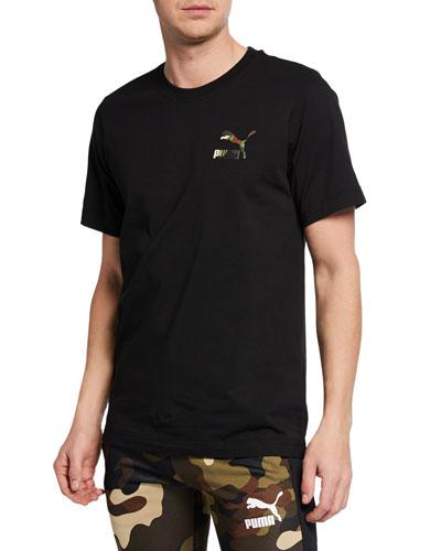 Men's Wild Pack Camo Logo T-Shirt