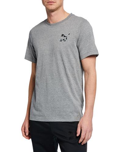 Men's Wild Pack Leopard Logo T-Shirt