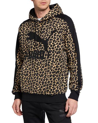 Men's Wild Pack Leopard Pullover Hoodie