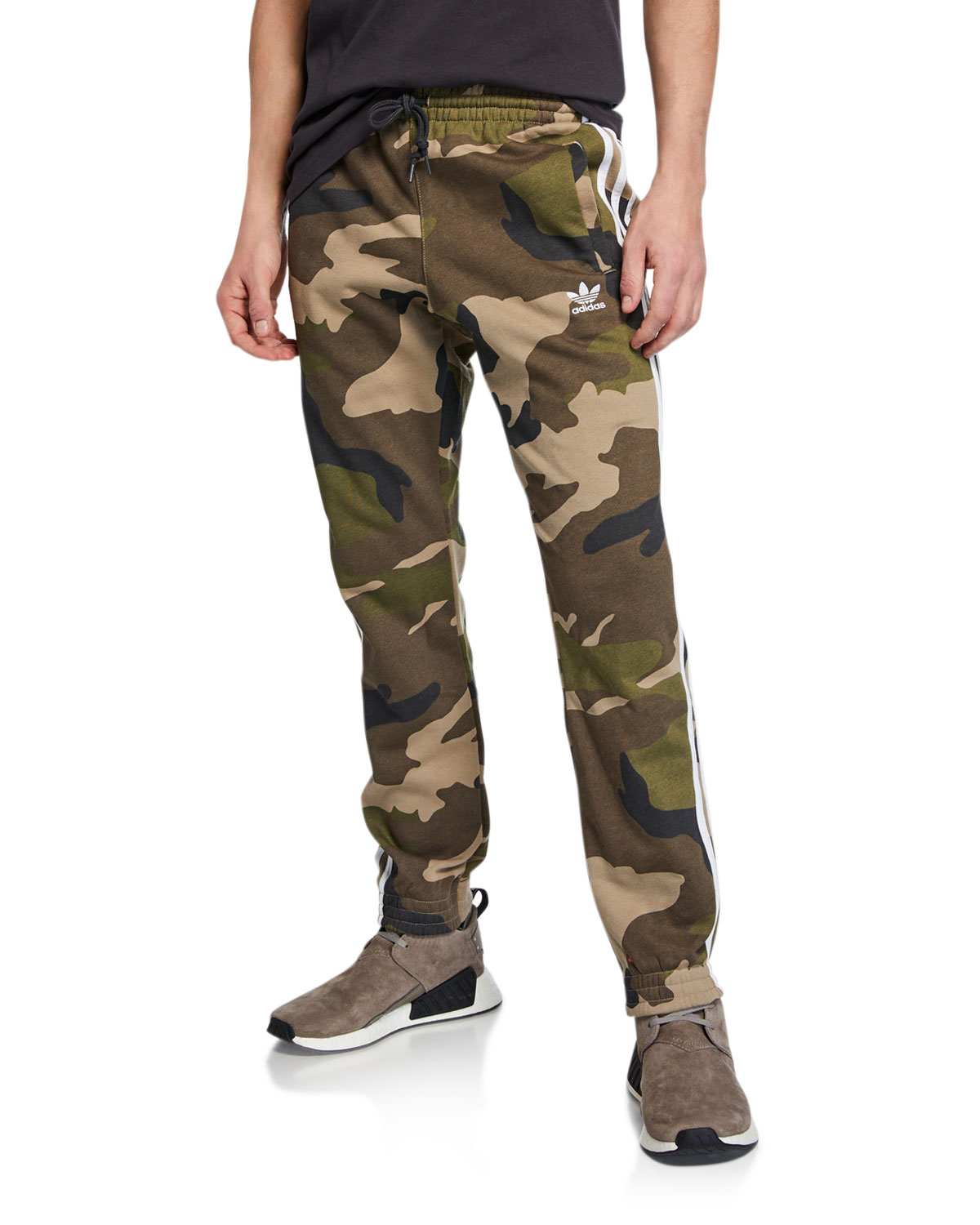 Adidas Men's Camo French Terry Pants