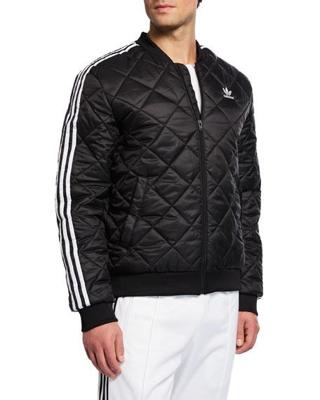 1227229e6 ADIDAS ORIGINALS. Adidas Men s Originals Adicolor Sst Quilted Bomber Jacket  ...