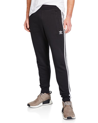 Men's Three-Stripes Cotton Lounge Pants