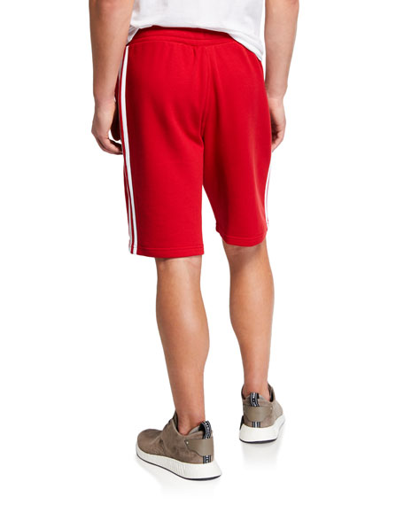 Adidas Men's Three-Stripe Track Shorts