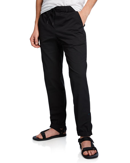 Vince Men's Solid-Weave Track Pants