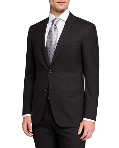 Canali Men's Impeccabile Glen Plaid Two-Piece Suit
