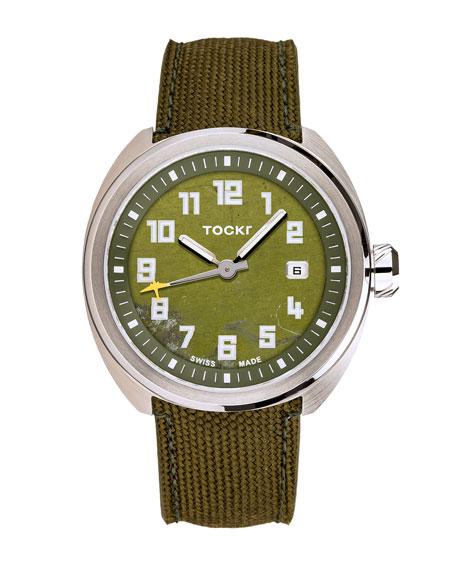 TOCKR WATCHES Men'S C-47C D-Day Clean Cut Watch in Green