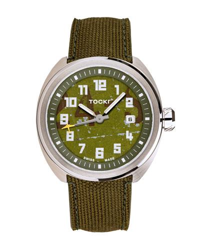 Men's C-47c D-Day Stamped Watch