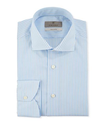 Men's Impeccabile Bengal Stripe Dress Shirt