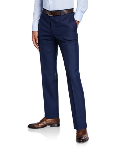Men's Wool Dress Trousers