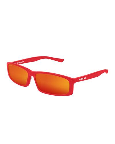Men's 90s Inspired Rectangular Sunglasses