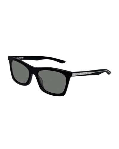 Men's Acetate Rectangle Sunglasses