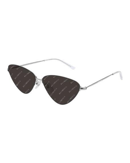 Balenciaga Men's Metal Sunglasses