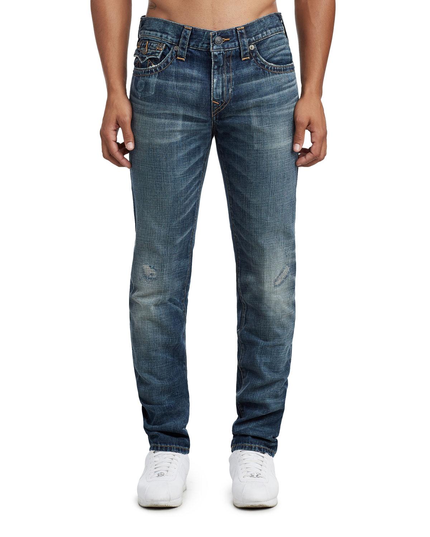 bab32cd2170 True Religion Men s Rocco Denim Jeans