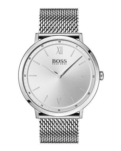 Men's Essential Analog Bracelet Watch