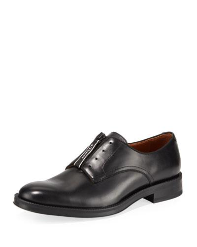 Men's Rider Zip-Front Derby Shoe
