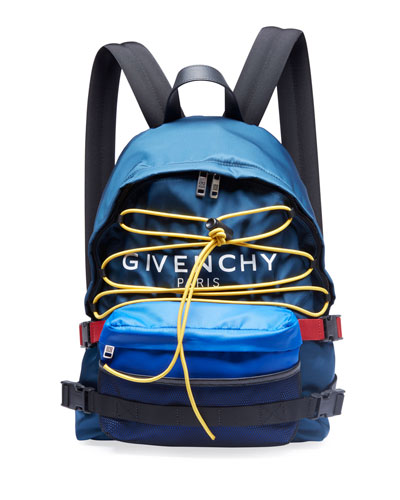 Men's Logo-Print Hiking Backpack