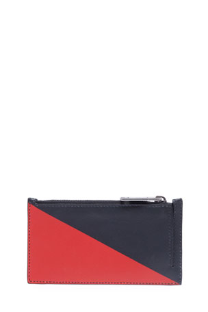 Givenchy Men's Triangle Print Card Case