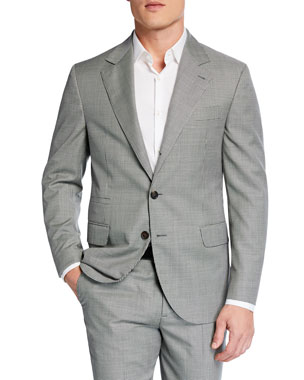 a769415e0c9 Brunello Cucinelli Men s Micro-Houndstooth Two-Piece Wool Suit