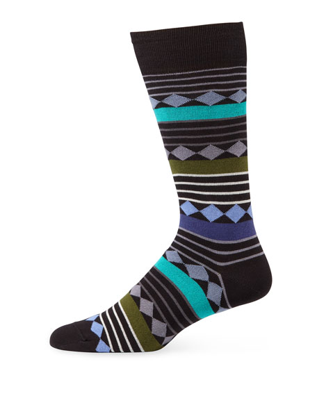 Paul Smith Men's Maris Stripe Socks