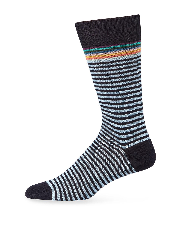 Paul Smith Men's Three Pack Graphic-Knit Socks