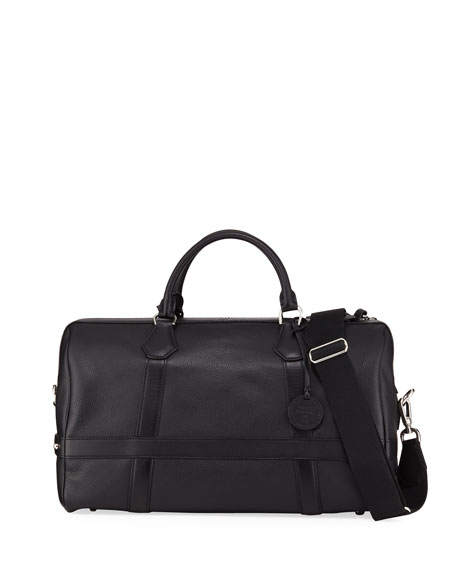dunhill Leather Duffel Bag