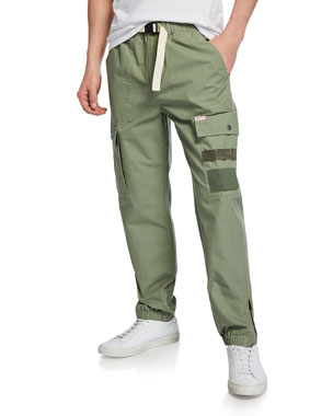 afe1be8313 Ovadia & Sons Men's Parachute Cargo Pants