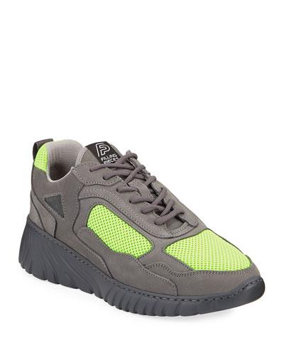 Men's Loop Leather Trainer Sneakers
